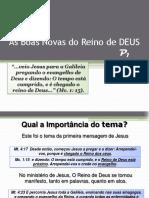 O Reino de DEUS - P1
