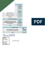Tabela de Preço Solo,Folha