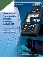 APP Power 8335 Functions