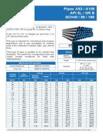 Data Sheet - Carbon Steel Pipe - Fiorella Repre