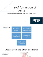 Failure of Formation of Parts-Sobri