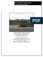Inspection Report 3308 Wheat Ridge Dr. Medford or. 97504