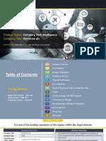 RENISHAW PLC  Company Profile Report, 2018