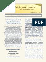 Boletín Jurisprudencial No 3 del 28 de febrero de 2019