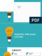 Ppt Basic of Letter