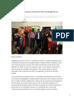 27-02-2019 Anuncia Gobernadora Pavlovich Plan Emergente en Salud - El Sol de Hermosillo