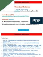 TheoreticalMechanics_Lecture01