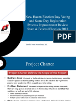 Report on New Haven Election Process & Proposed Reforms