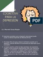 Terapia cognitiva depresión