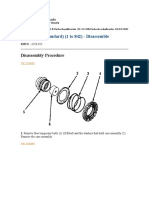 Differential (Standard) (1 to 842) - Disassemble