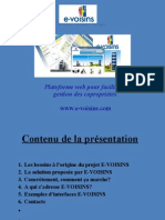 Presentation e-Voisins
