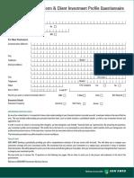Risk Profiling ABN