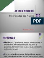 Mecânica Dos Fluidos - Propriedades Dos Fluidos_Introdução