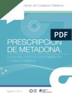Guia Prescripcion Metadona