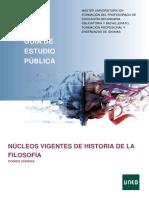 GuiaPublica_Nucleos Vigentes de La Filosofia_UNED