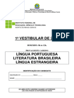 Vestibular - prova IF
