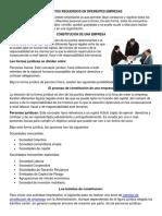 Documentos Requeridos en Diferentes Empresas