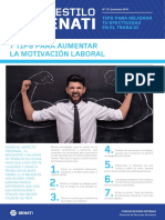 Boletín AES 37 Dic - Tips Para Aumentar La Motivación Laboral