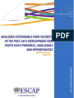 Realising Sustainable Food Security in South Asia Upali Wickramasinghe _August 2014_FINAL