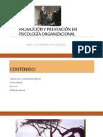 Ps. Organizacional_Prevención y Promoción