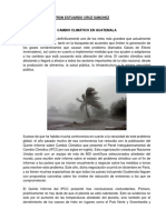 Cambio Climático en Guatemala 1