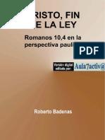 BADENAS, Roberto. Cristo FIN de la ley.pdf