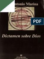 Marina, Jose Antonio - Dictamen sobre Dios.pdf