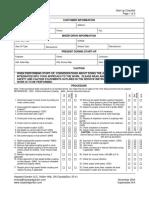 03 41 Start Up Checklist