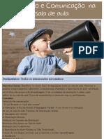 Motivação e Comunicação na sala de aula  - Formação 2011