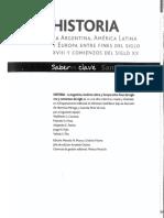 Historia Argentina, América Latina y Europa entre fines del S XVIII y comienzos del XX- Santillana.pdf