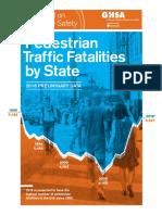 Pedestrian Fatalities Report