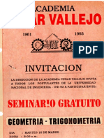Seminario Vallejo 1993