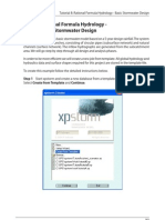 xpstormV10RationalFormulaHydrology