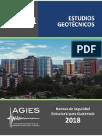 NSE 2.1 2018 Estudios Geotécnicos, Guatemala