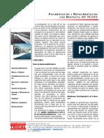 Nt0011-2006 Pavimentación y Repavimentación Con Geotextil No Tejido.rif