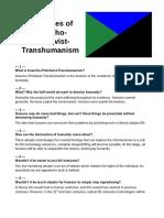 Principles of Anarcho Primitivist Transhumanism