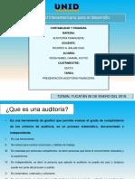 Actividad 1 Auditoria Financiera