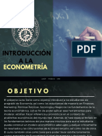 Introducción a La Econometría (1)