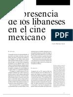 Libaneses en El Cine Mexicano