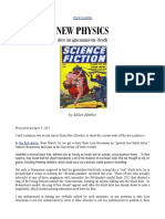 New Physics Dies an Ignominious Death