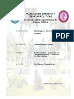 Monografia Corrupcion e Institucionalidad