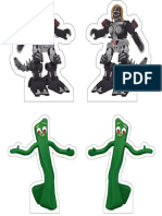 Gumby and Mecha Streisand