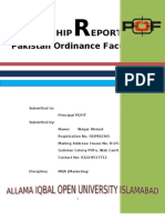 Internship Report Pof