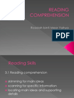 WEEK 9 - Reading Comprehension.ppt