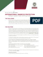 Bv Ingress Protection