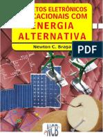 Projetos Eletrônicos Educacionais Com Energia Alternativa