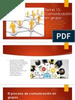 Tema 15 comunicación efectiva