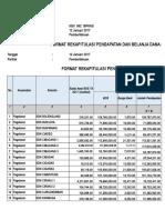 1. Rekap Form 1 Dan 2 Sp3b Kecamatan Pagelaran 2017