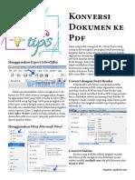 Konversi Dokumen Ke PDF