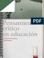Watty, Patricia - Pensamiento critico en educacion.pdf